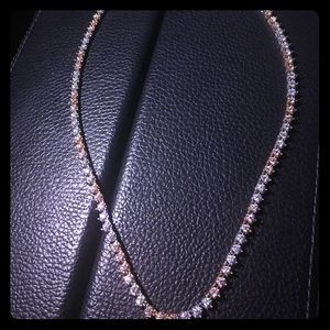Diamond chain 12.00ct in diamonds. G color VS2 14k